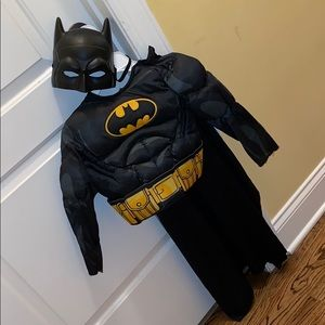 Batman Toddler costume top, cape, mask
